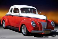 1940 Ford Coupe 'Fifty-Fifty'