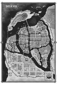 Doskvol Illustrated City By Ryan Dunleavy