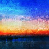 15b Abstract Seascape Digital Painting