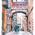 Carrer del Bisbe - Barcelona