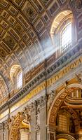 Sun Rays in St Peters Basilica