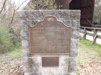 DSCF0293 Historic placard Tallest covered bridge