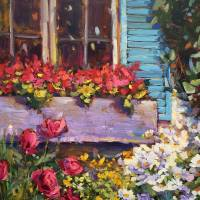 """Window Box in Bloom"" by lindseytull"