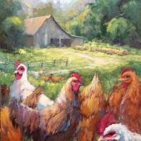 """""""Free Range Chickens"""" by lindseytull"""