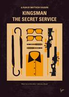 No758 My Kingsman minimal movie poster