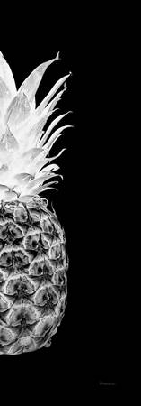 14Tr Artistic Glowing Pineapple Digital Art Black