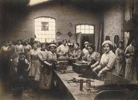 Women at Factory Workbench WWI