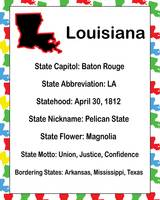 Louisiana Information Educational