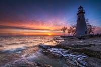 Marblehead Lighthouse Sunrise by Cody York