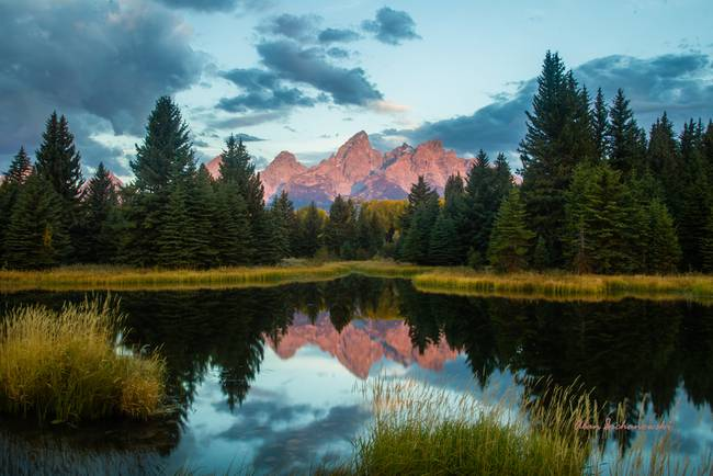 Alpenglow from Schwabacher's