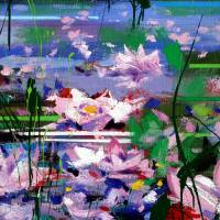 """Waterlilies"" by zampedroni"