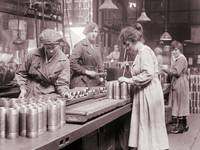 WWI Women in Munitions Factory