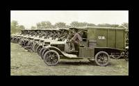 Ambulance Drivers in Camp WWI