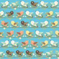 Assorted birds pattern