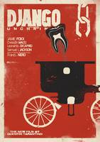 Django Unchained, Quentin Tarantino, Movie, Poster