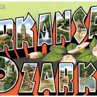 Arkansas Ozarks Large Letter Postcard Greetings by ArtLoversOnline