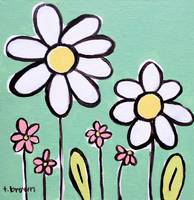 duo of daisies. by tracie brown