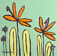 bops with daisies. by tracie brown