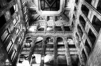 Historic Minneapolis City Hall and Courthouse BW 3