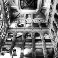 Historic Minneapolis City Hall and Courthouse BW 3 Art Prints & Posters by Wayne Moran