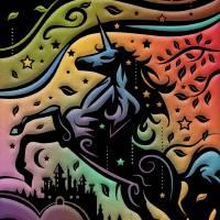 Fall Unicorn Art Prints & Posters by Greg Simanson