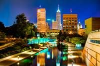 Indy of Lights - Indianapolis Downtown Skyline