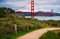 A Stroll Near the Golden Gate - San Francisco