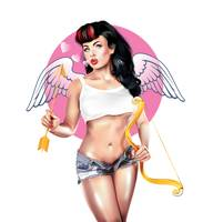 Cupid Pin-up