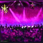 The Disco Ball - Purple by RD Riccoboni by RD Riccoboni