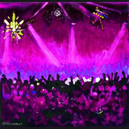 The Disco Ball - Purple by RD Riccoboni