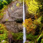 Latourell Falls, Columbia Gorge