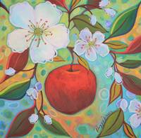 Apple Among The Blossoms