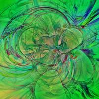 Green World Abstract