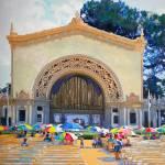 Spreckels Organ Balboa Park San Diego by RD Riccoboni