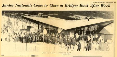 Bridger Bowl newspaper 1968