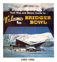 Bridger Bowl Trail Map by Gallatin History Museum