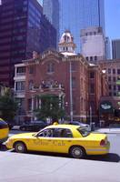 Denver Downtown with Yellow Cab