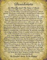 desiderata on antique wallpaper 2