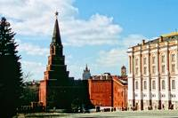 Inside The Kremlin: Palace and One of The Gates