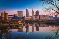Cleveland River Reflection at Sunrise by Cody York