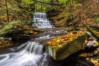 Gates Mills Waterfall by Cody York-9307