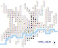 London's Tube DNA - gridded
