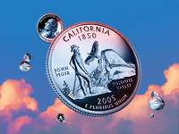 California State Quarter - Sky Coin 31