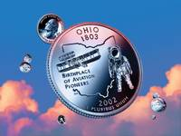 Ohio State Quarter - Sky Coin 17
