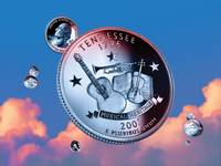 Tennessee State Quarter - Sky Coin 16