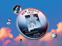 New Mexico State Quarter - Sky Coin 47