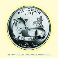 Wisconsin State Quarter - Portrait Coin 30