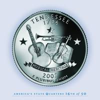 Tennessee State Quarter - Portrait Coin 16