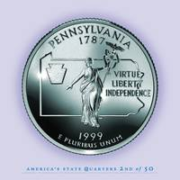 Pennsylvania State Quarter - Portrait Coin 02