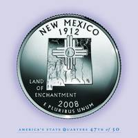 New Mexico State Quarter - Portrait Coin 47